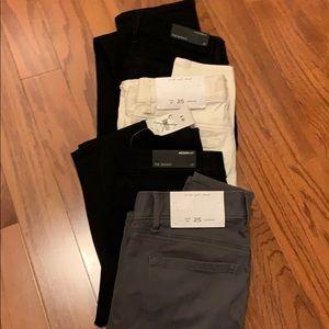 NWT BUNDLE of Ann Taylor Loft Skinny Pants SALE!